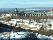 View of site from NCC headquarters on Elgin St