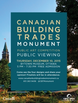 CBTM Public Viewing Poster