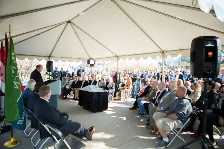 Land Dedication Ceremony 2016 (photo: Jamie Kronick)